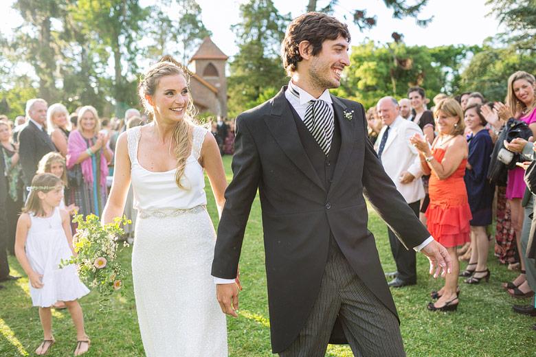 Casamiento de día en Estancia Santa Elena