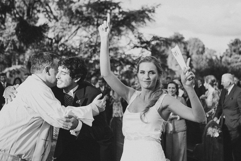 fotos naturales de casamiento