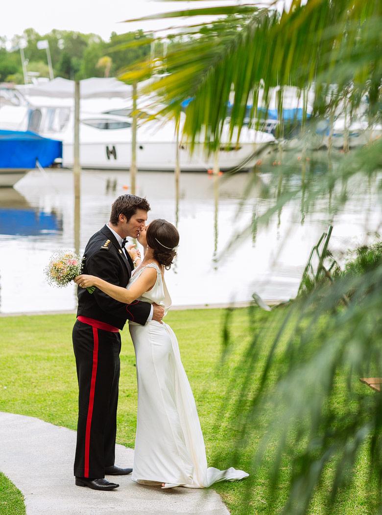 casamiento de dia en Marinas Golf