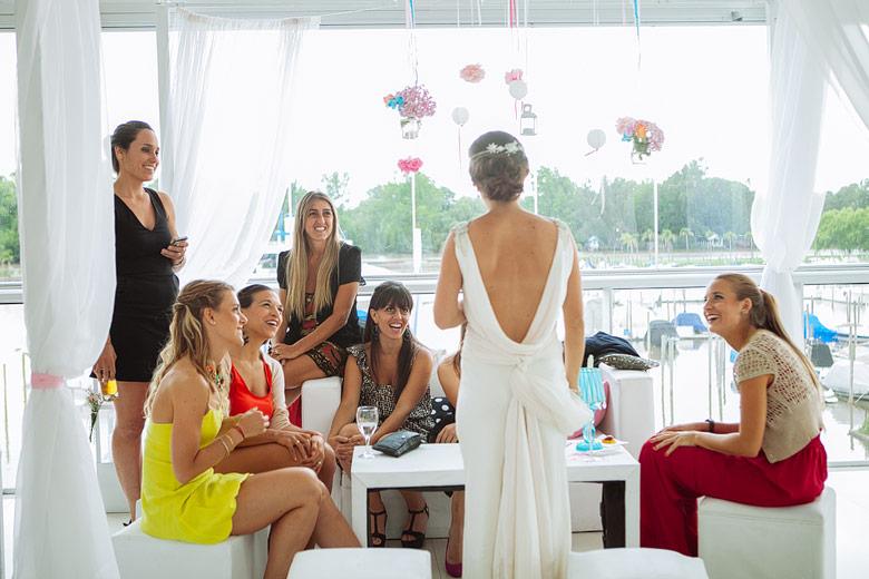 casamiento de dia en Marinas Golf Tigre