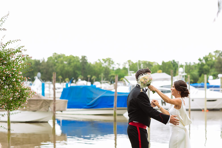 book de fotos de casamiento en Marinas Golf Tigre