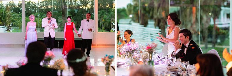 fotos de casamientos de dia en marinas golf