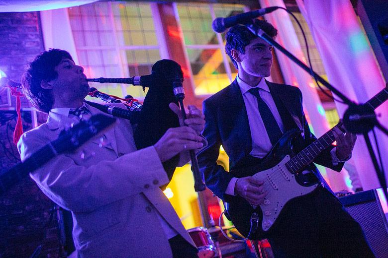 fotos de show en casamiento en santa elena