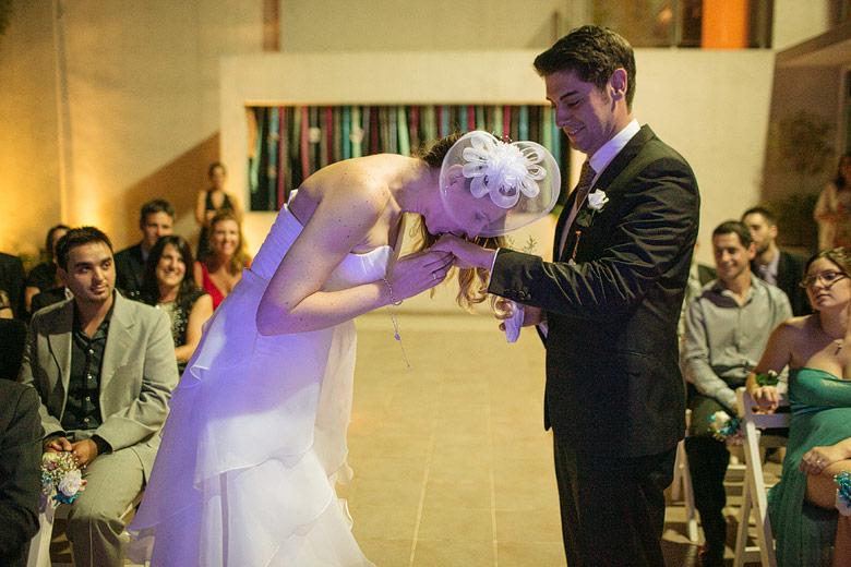 ceremonia de matrimonio en espacio idear
