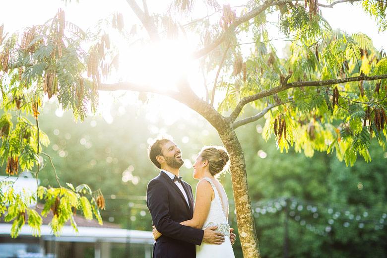 fotos espontáneas de casamiento en estancia la linda