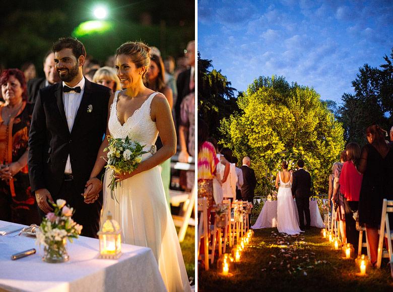 fotos de casamiento al atardecer en estancia la linda