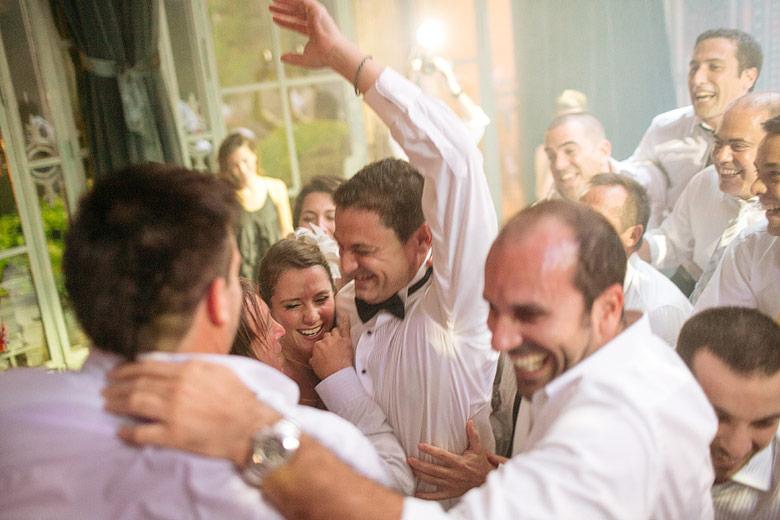 fotos espontáneas de boda