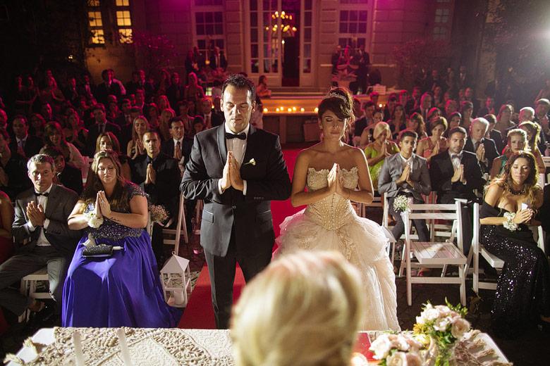 Fotos de ceremonias de casamiento en el Palacio Bencich
