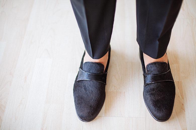 """zapatos de novio """"FAUNO"""" Black de Terrible Enfant"""