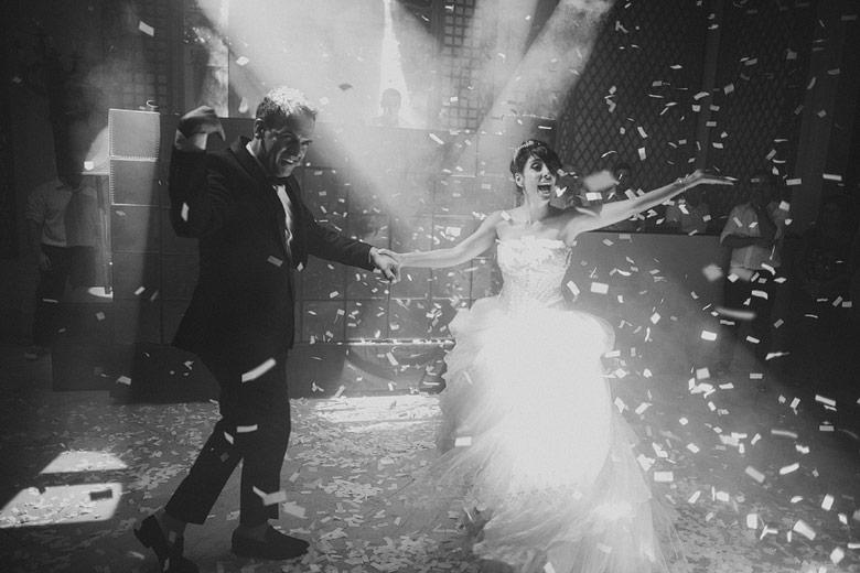 fotos del baile en casamiento en palacio bencich