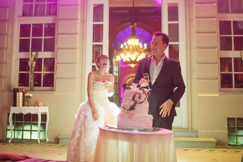 fotos del corte de torta en el palacio bencich
