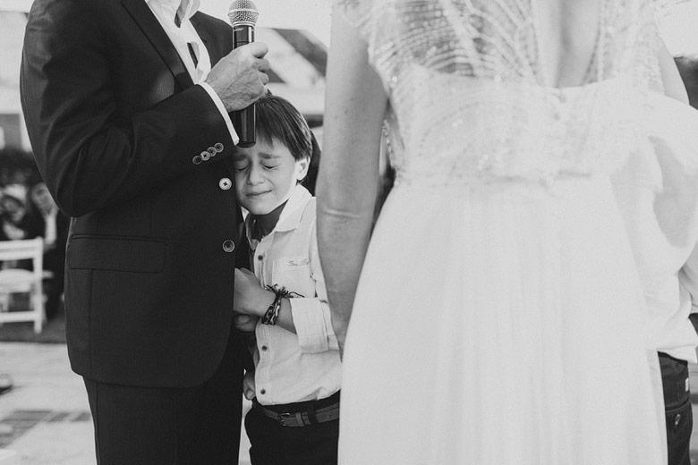 fotos conmovedores de casamiento
