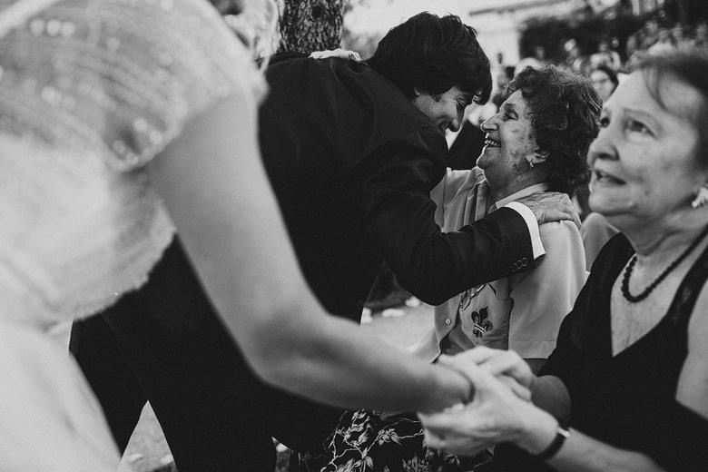 fotos de casamiento con abuelas