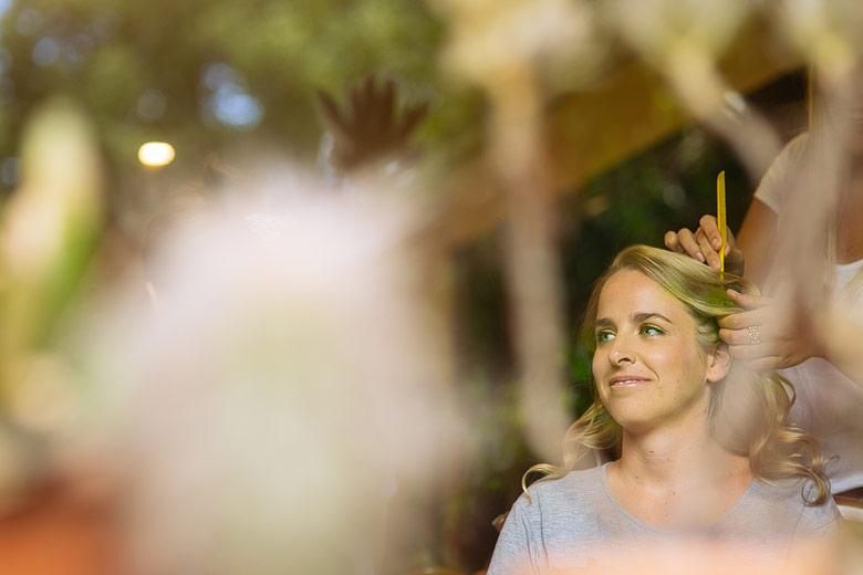 fotos de maquillaje de novia por Stell Krasevac