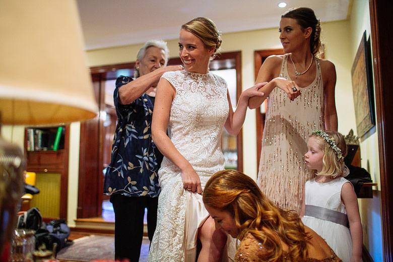 Wedding dress by Danielle Caprese photos