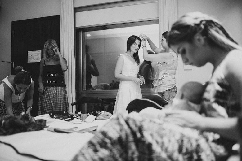 back de fotos en casamiento