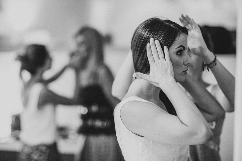 fotos del getting ready de la novia