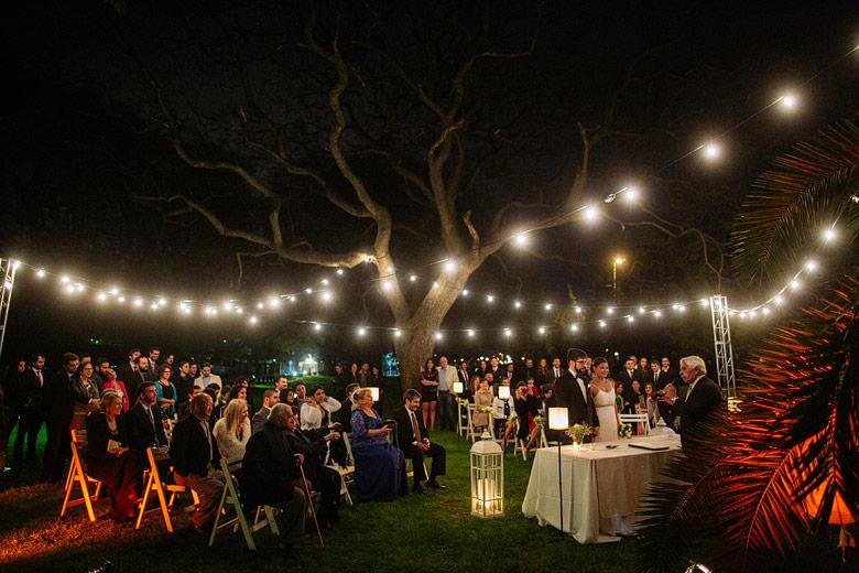 fotos de casamientos nocturnos en la escondida de palermo