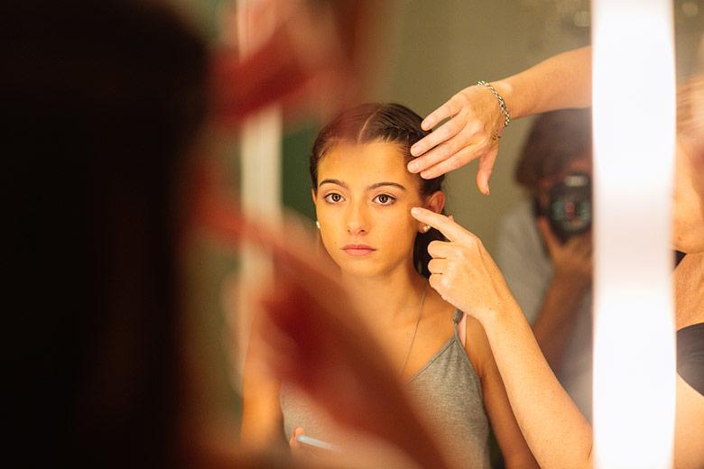 Nat Urtiaga maquillaje de quinceañeras