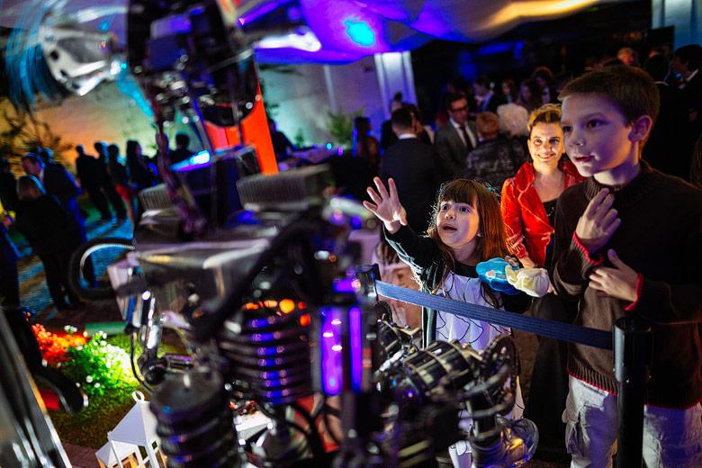 robot interactivo eventos