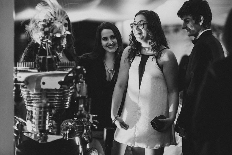 robot para fiesta de 15