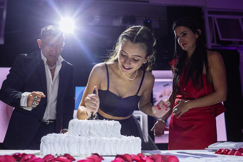 torta cumpleaños de 15
