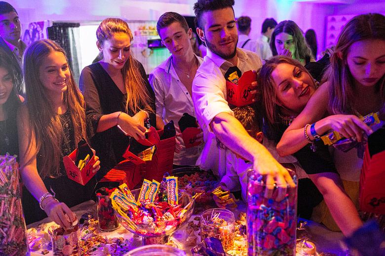 candy bar para fiesta de 15