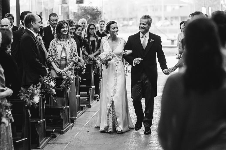 casamiento en capilla santa teresita