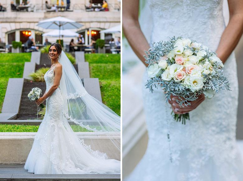 vestido de novia por Pronovias