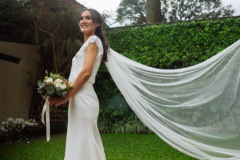 vestido de novia por Mariana Müller