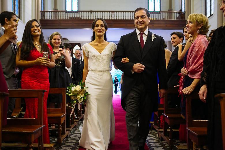 casamiento iglesia colegio marin